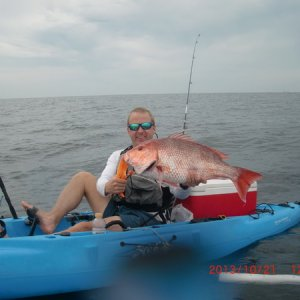 "30"" Red Snapper"
