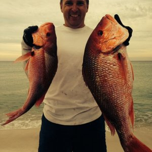 Snapper limit from kayak - 10/21/2013