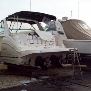 2003 - 34 ft. Rinker (complete detail/compound & wax)