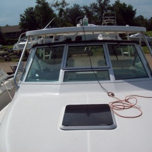 30 ft. Rinker - complete detail (compound & wax)