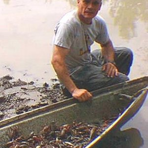 Catchin mud bugs in Mississicrappy