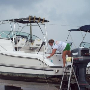 24 ft. Triton - Monthly wash down maintenance