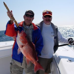 Pete Riley's red snapper!!!