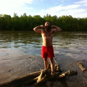 Huck finnin down the river