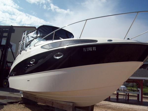 2009 - 265 Bayliner (complete detail including wax) - repeated customer that comes by water each year!