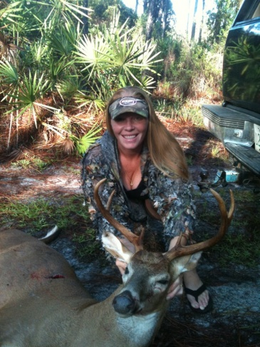 my big boy My first Archery Buck kill! 2011 All I can say is WOW what a rush! :)
